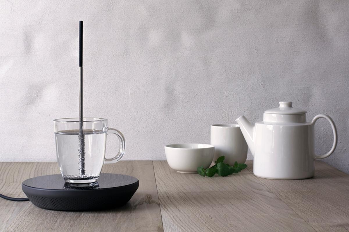 The Miito is an induction kettle that heats only the liquid you need (Photo: Miito)