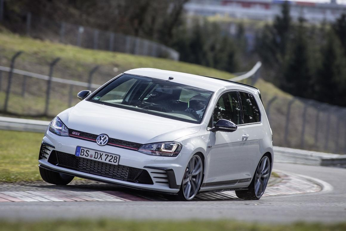 Golf Clubsport S >> Vw Golf Gti Clubsport S Topples Front Wheel Drive