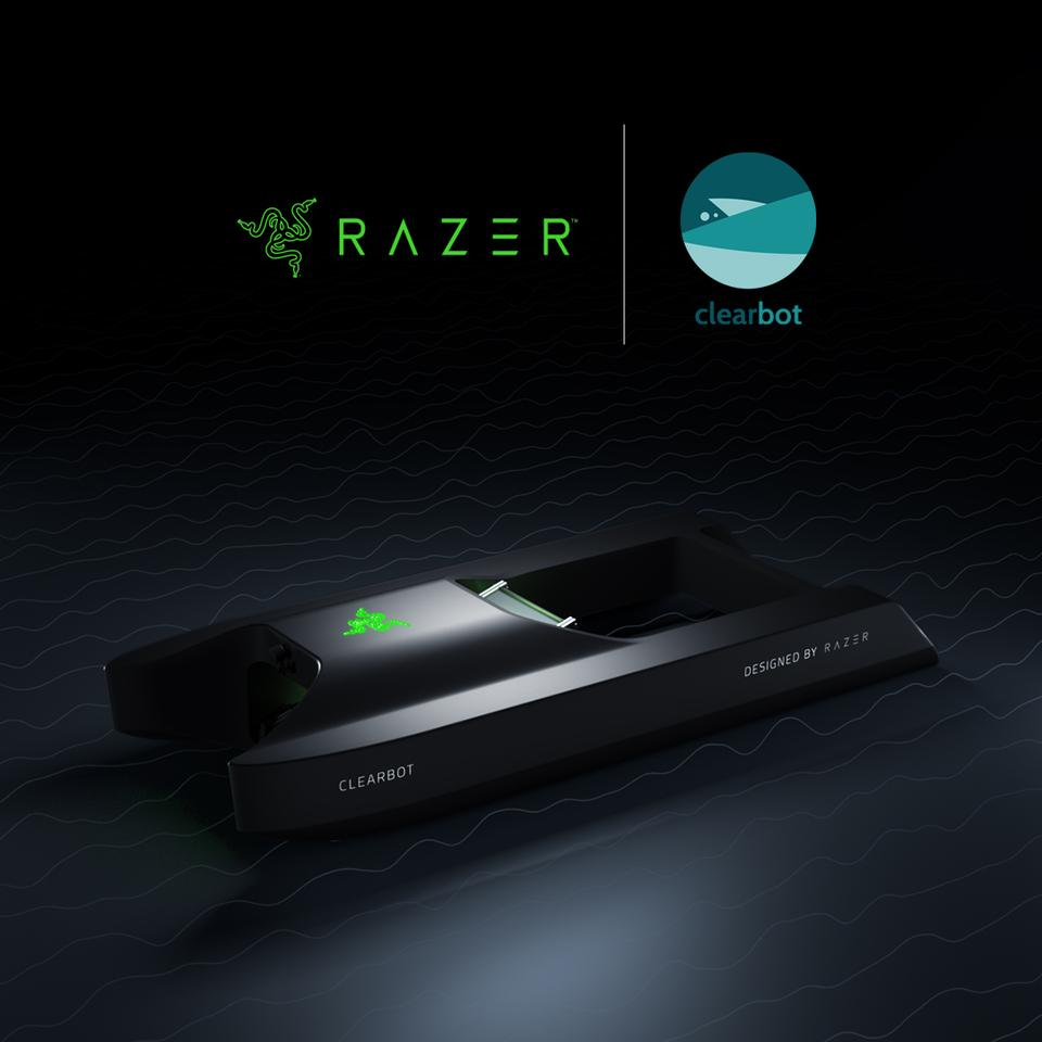 Engineers and designers from Razer worked in their own time to design a new Clearbot marine-trash-removal vessel