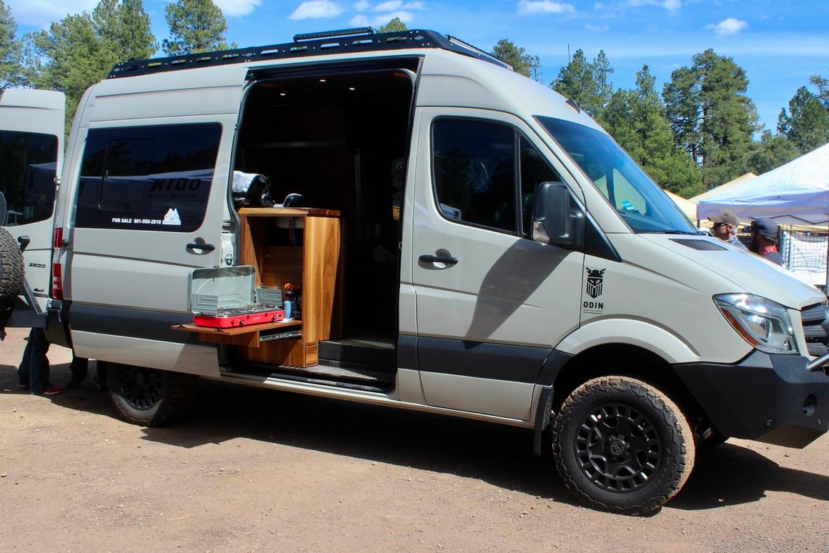 Big, burly and often beautiful: Camper vans and adventure