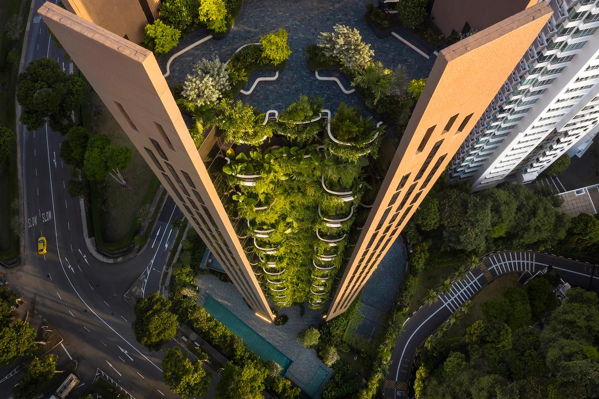During the design process for Eden, Heatherwick Studio drew inspiration from Singapore's natural landscape