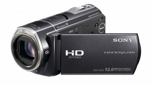Sony Handycam CX520VE HD camcorder