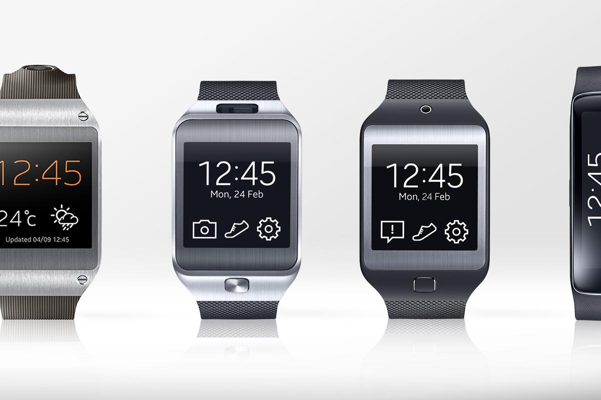 Gizmag lines up Samsung's four Gear devices to compare their features and specs