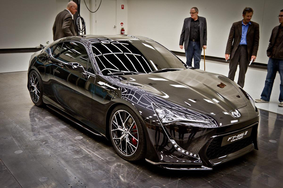 The Toyota FT-86 II sportscar concept