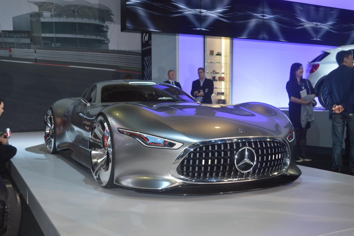 Mercedes shows the AMG Vision Gran Turismo at the 2013 LA Auto Show