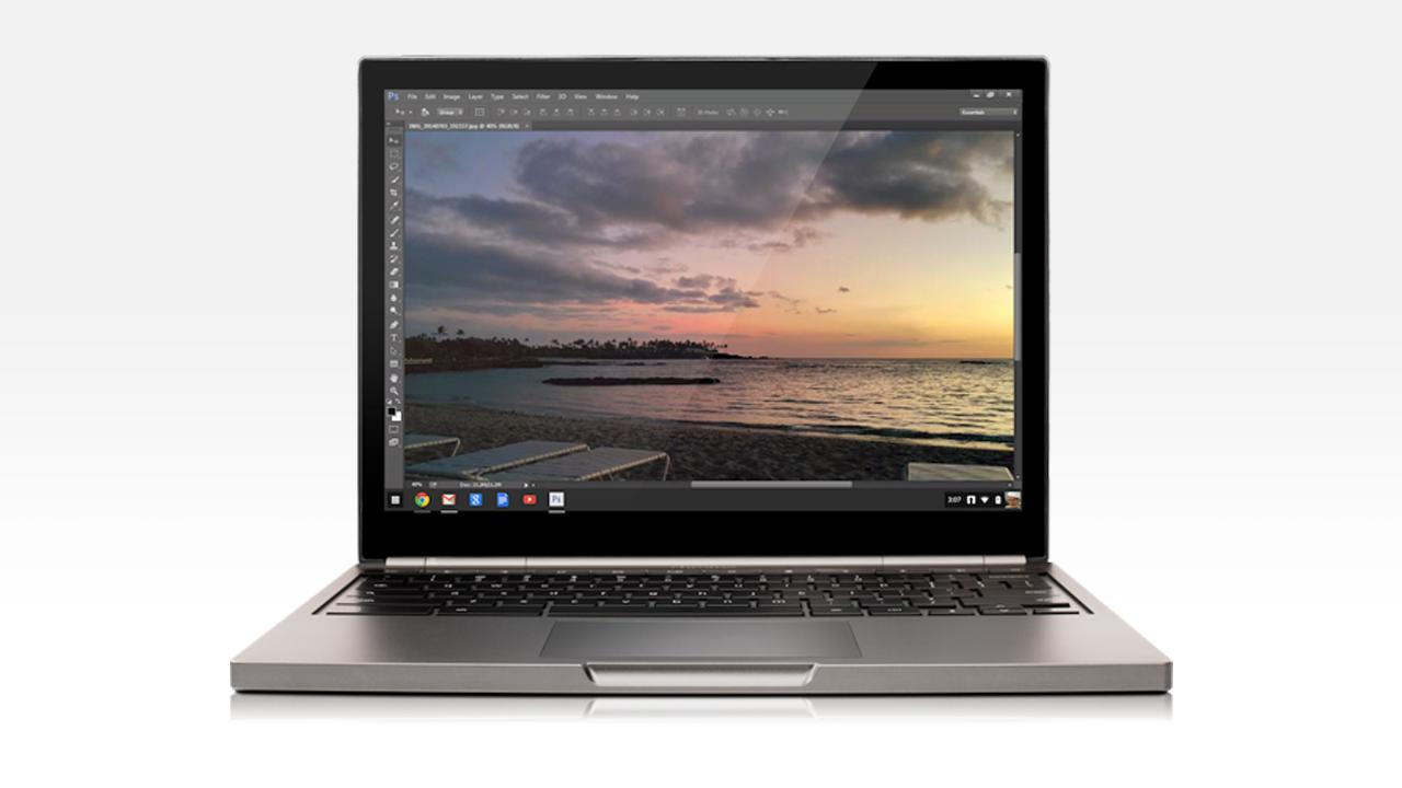 Google has announced plans to bring Adobe Creative Cloud services to Chromebooks