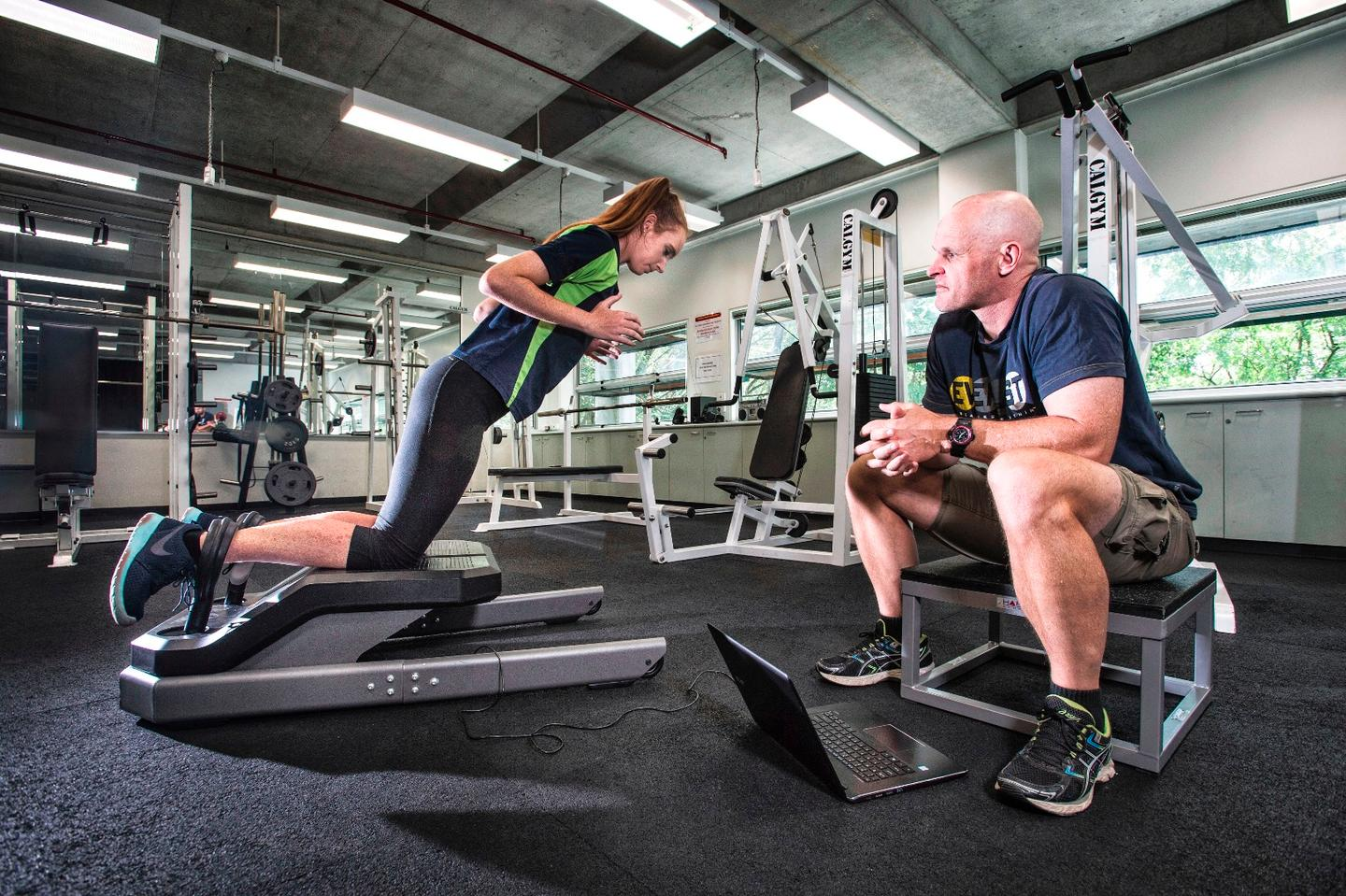 The Nordbord can be used by athletes in a variety of sports