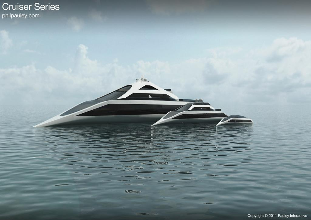 Phil Pauley's proposed Cruiser family of watercraft