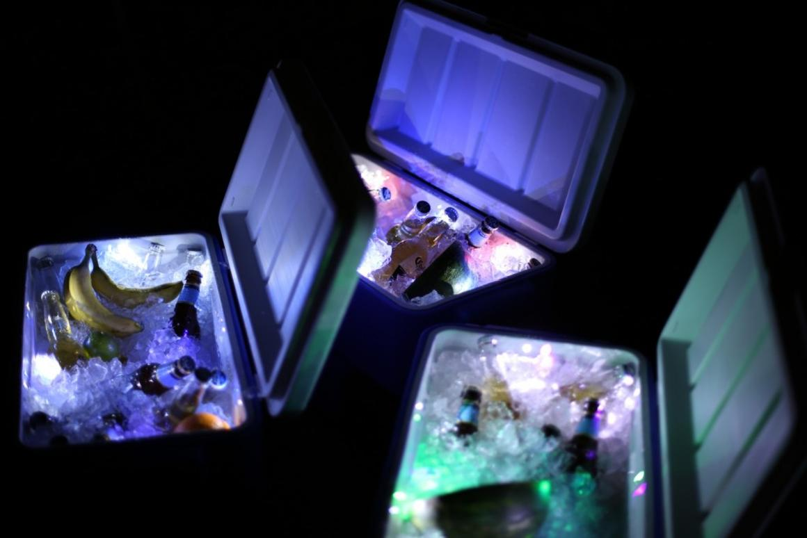 LiddUp Cooler is claimed to be the first cooler to offer integrated LED lighting