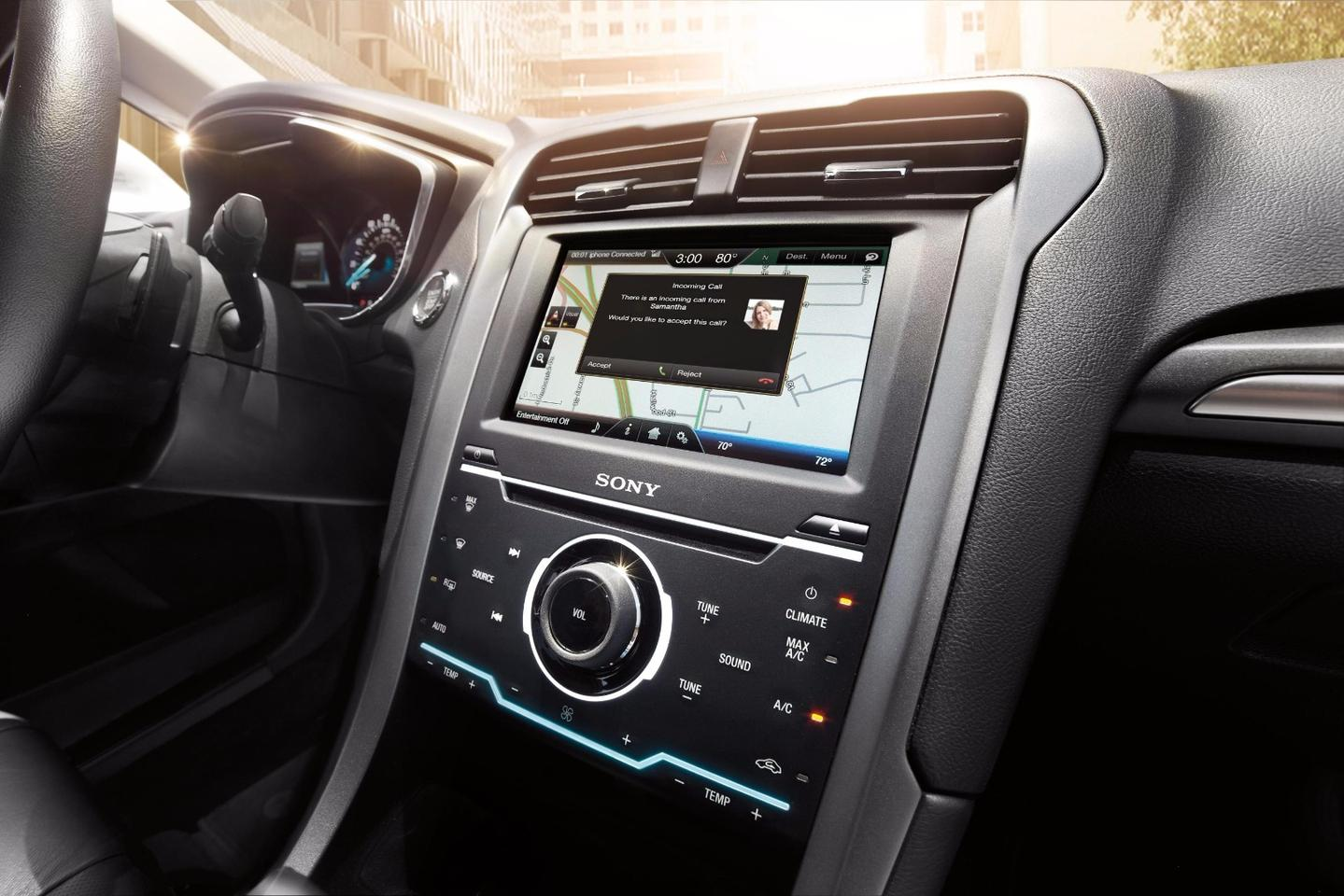 The Ford software update is the first major update to the SYNC system that is on the fly