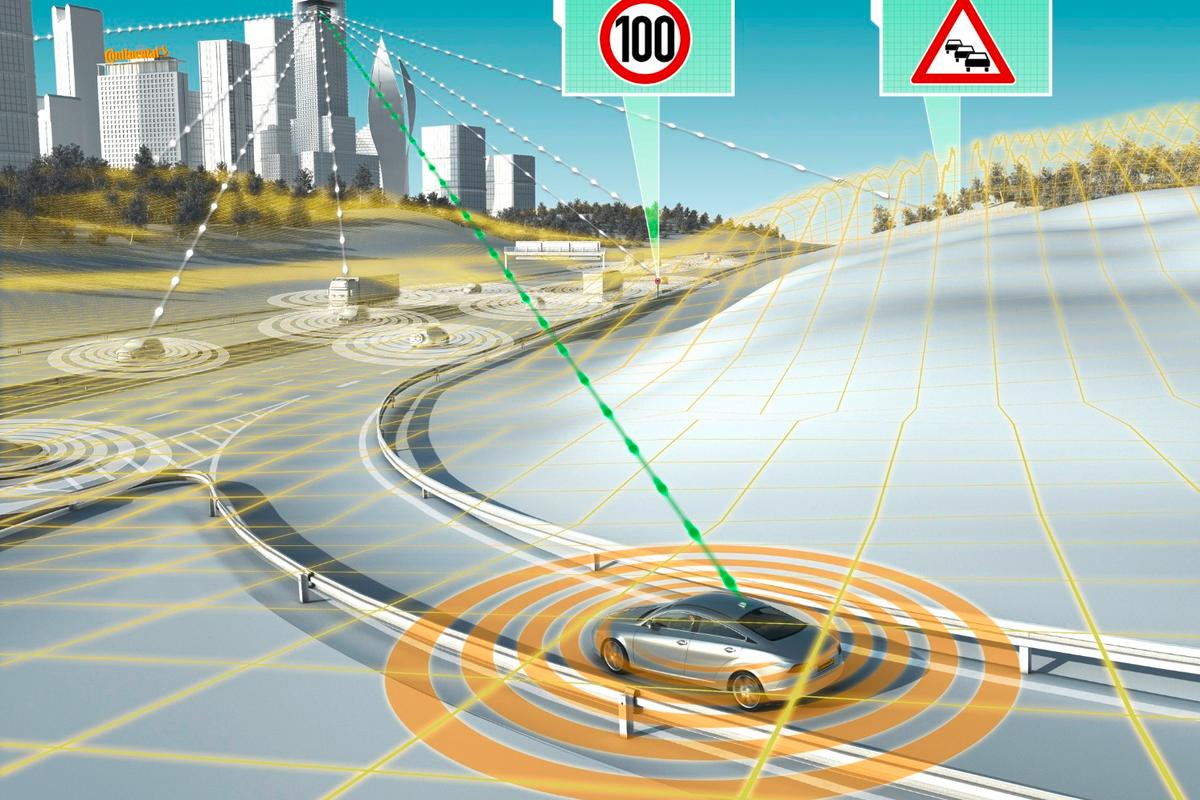 The USDOT has been assessing the feasibility of the 5.9 Gigahertz broadcast frequency for short-range communications between vehicles and infrastructure