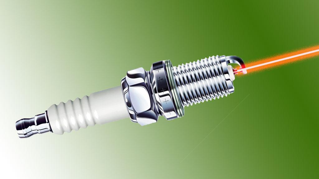 Spark plugs could soon be replaced be laser igniters