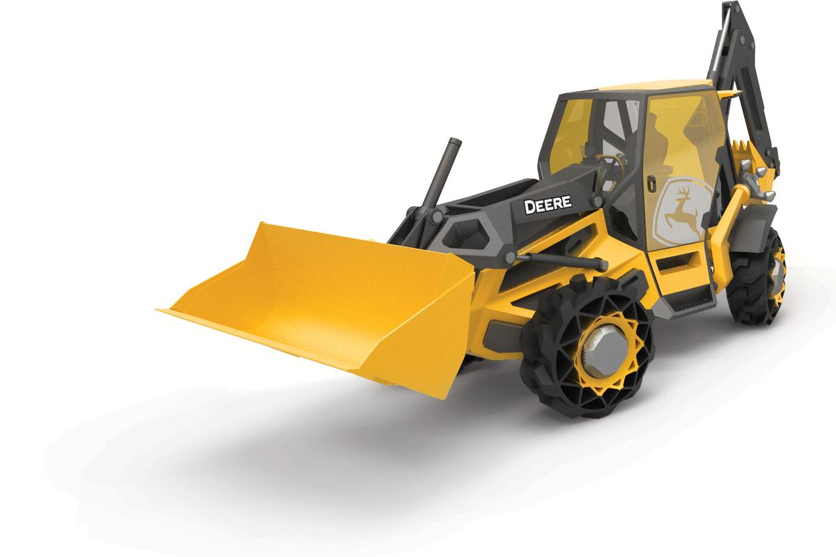 The Designworks concept backhoe was unveiled at Las Vegas this week