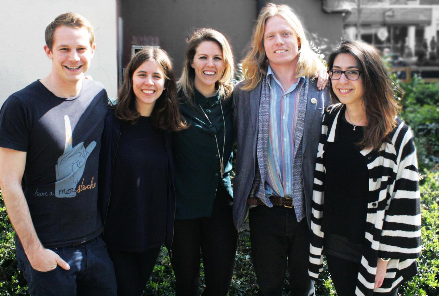 Charlotte Alice Winifred Knight leads a design team of architectural assistants that includes Mina Gospavic, Ross Galtress, and Lauren Shevills, plus artist Edward Crumpton