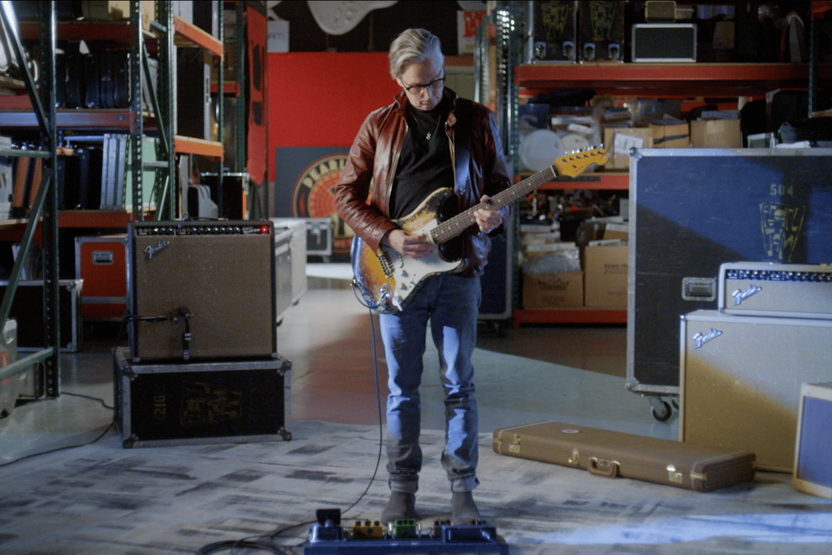 The Custom Shop recreation of Mike McCready's original 1960 Stratocaster is so good that he says he has trouble telling them apart