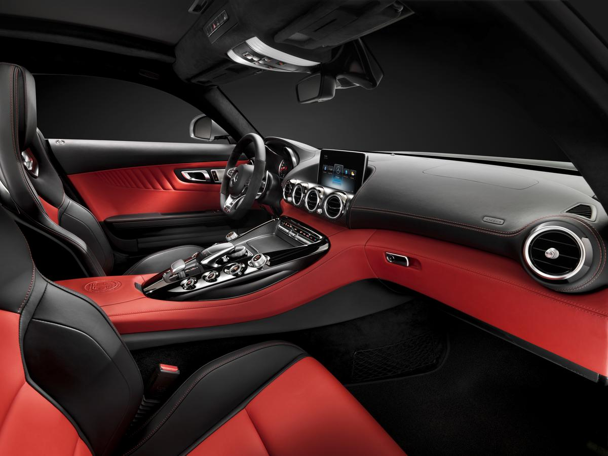 Mercedes has released images of the new AMG GT interior