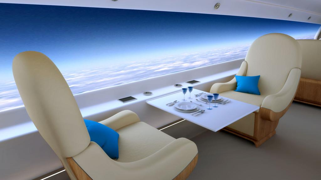 Spike Aerospace has announced that its S-512 will feature a windowless cabin