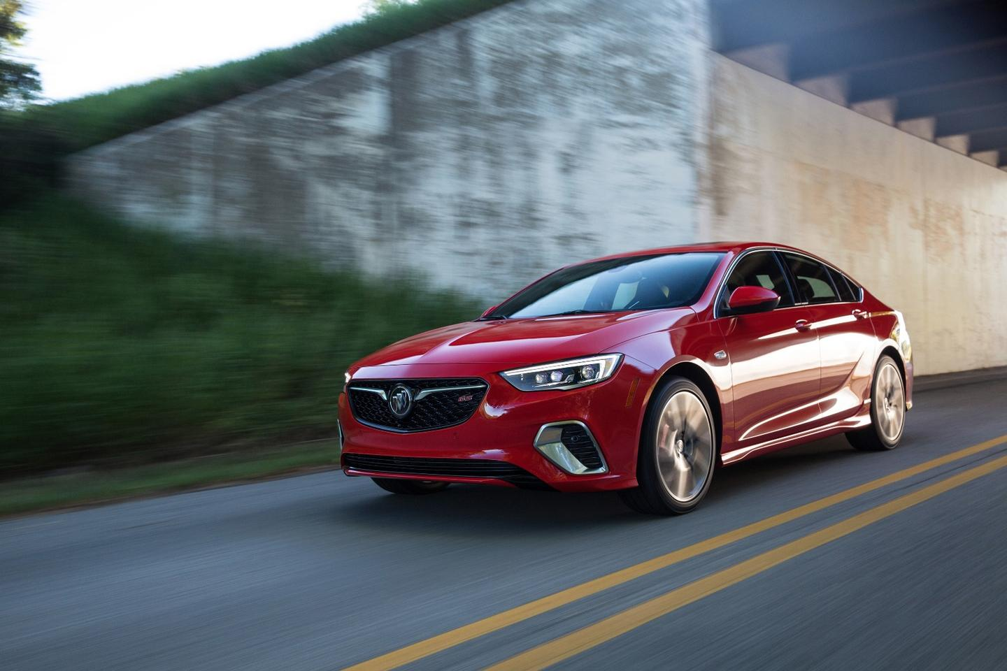 The Buick Regal GS has a clever GKN rear differential