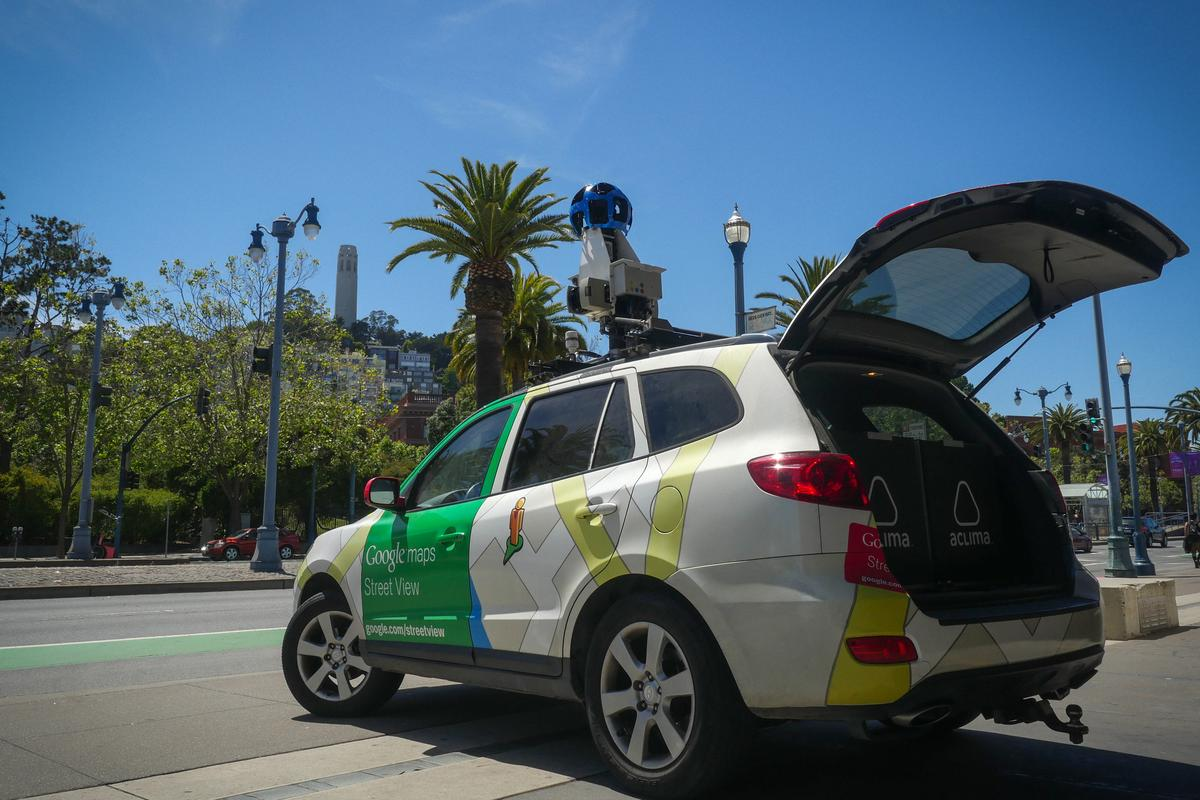 The Google Street View vehiclesgathered more than three million unique pollutionmeasurements
