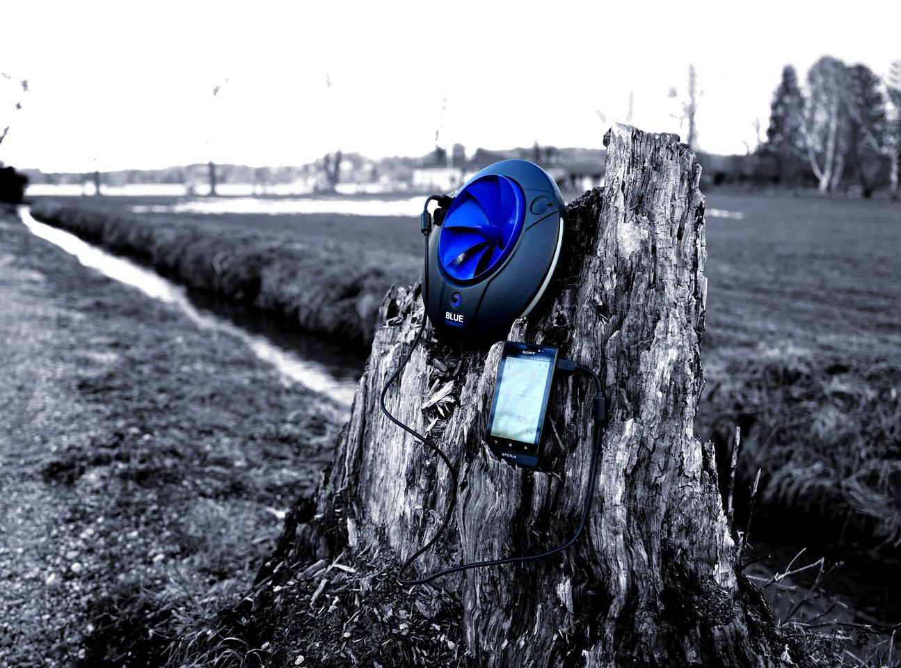 The Blue Freedom brings hydropower to your backpack