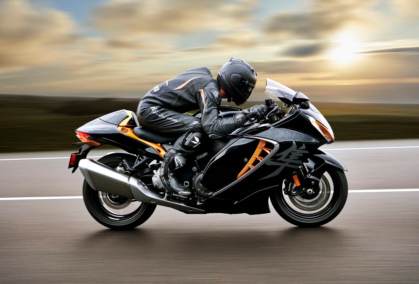 Suzuki has released a third generation of the iconic Hayabusa hypersports tourer