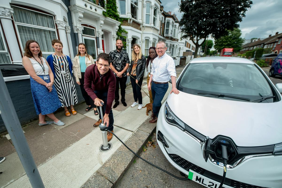 """The STEP trial will see 150 """"flat and flush"""" EV charge points installed across the London Boroughs of Brent and Camden"""