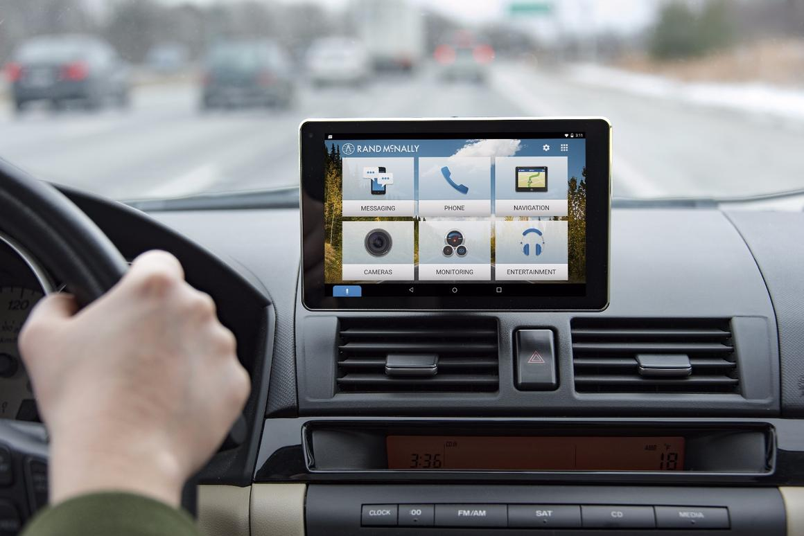 Rand McNally's OverDryve is a tablet-based connected car kit