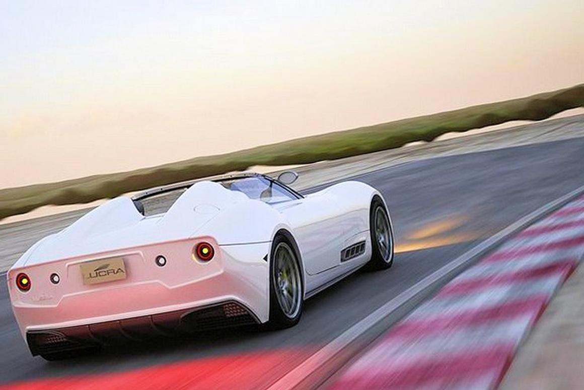 The new Lucra L148 cruising the highway for prey (Photo: Lucra Cars)