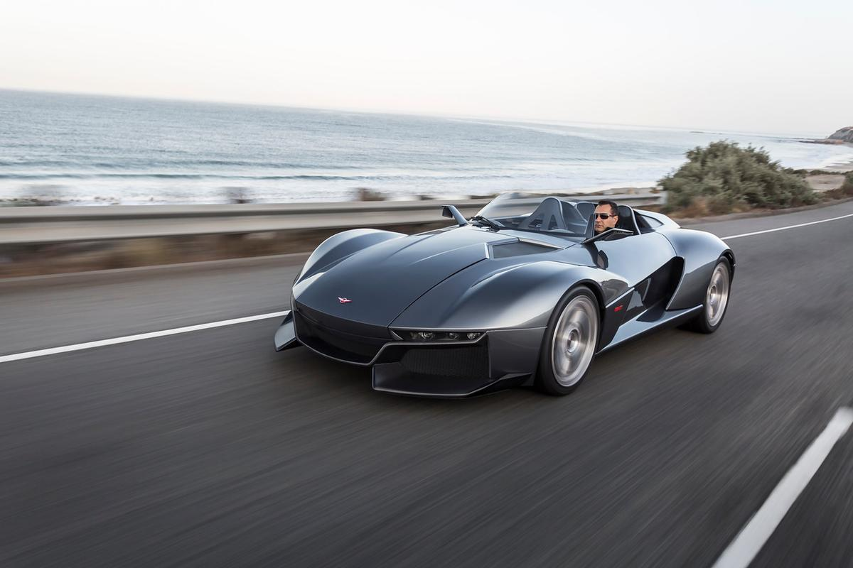 The Rezvani Beast is a new roadster built on an Ariel Atom 3 chassis