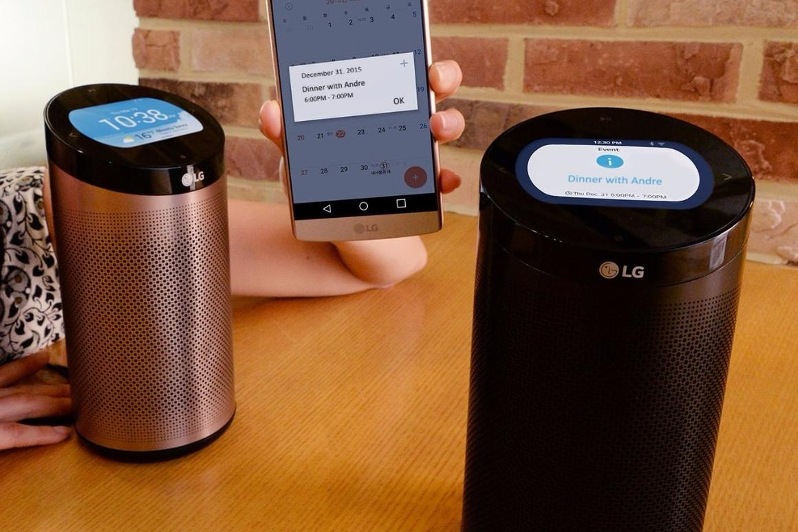 The Hub's speaker can stream music from internet radio service iHeartRadio or the user's smartphone or tablet over Bluetooth