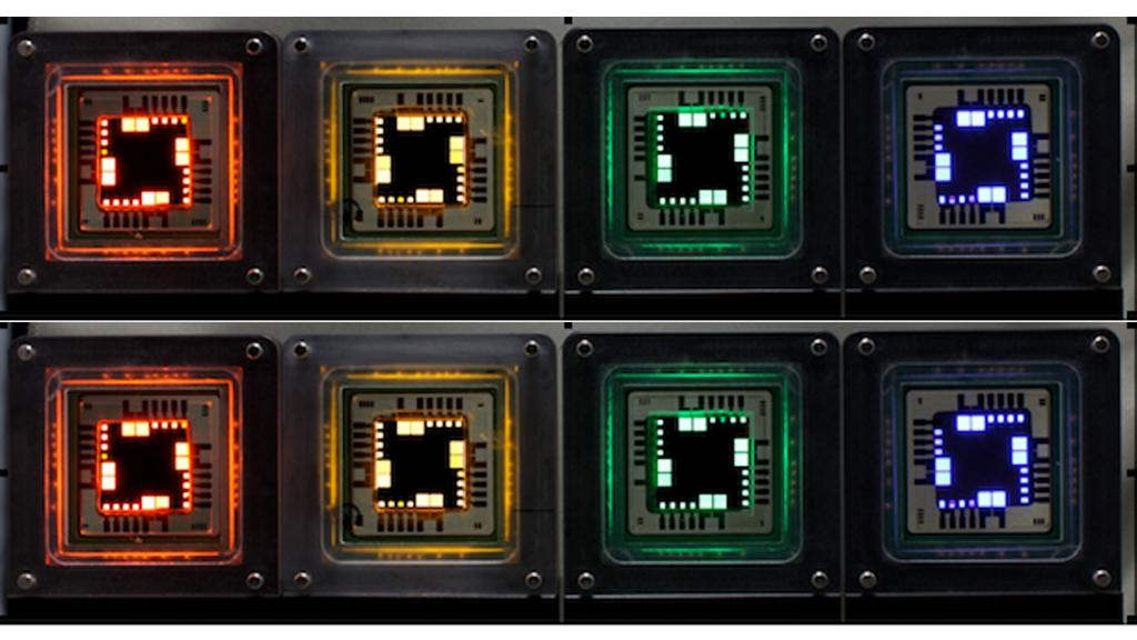 QLED displays promise better color reproduction, energy efficiency and cheaper manufacturing costs than OLED