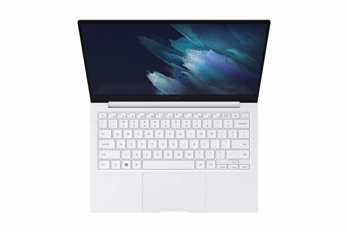 The Galaxy Book Pro laptop comes with a re-engineered keyboard that boasts scissor switches and wide keys