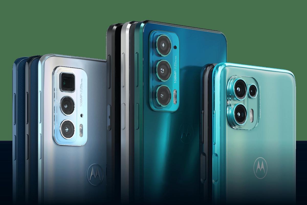 All three Motorola edge additions sport a 108-megapixel main camera module