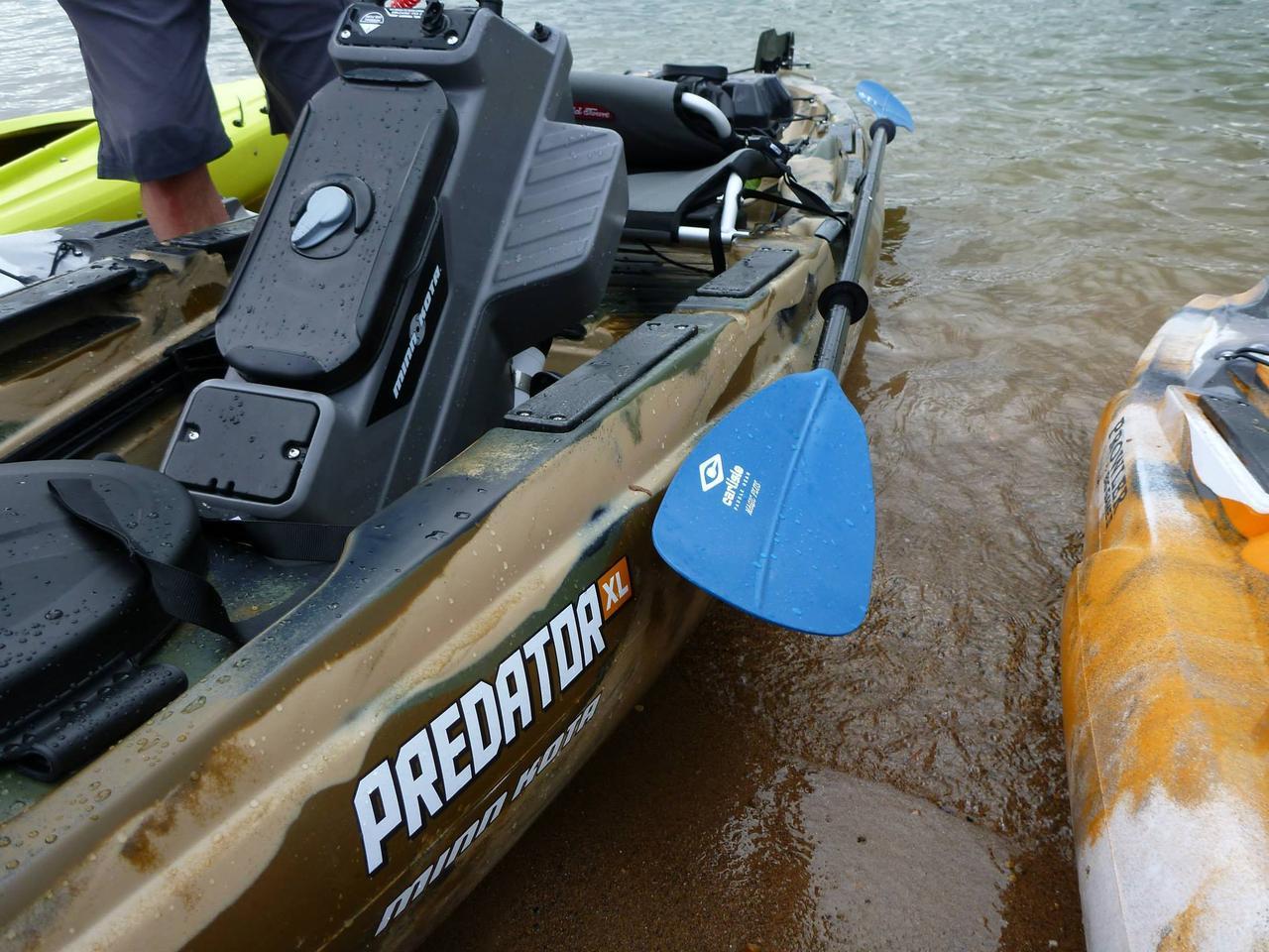 Modular Predator XL kayak features plug-and-play electric