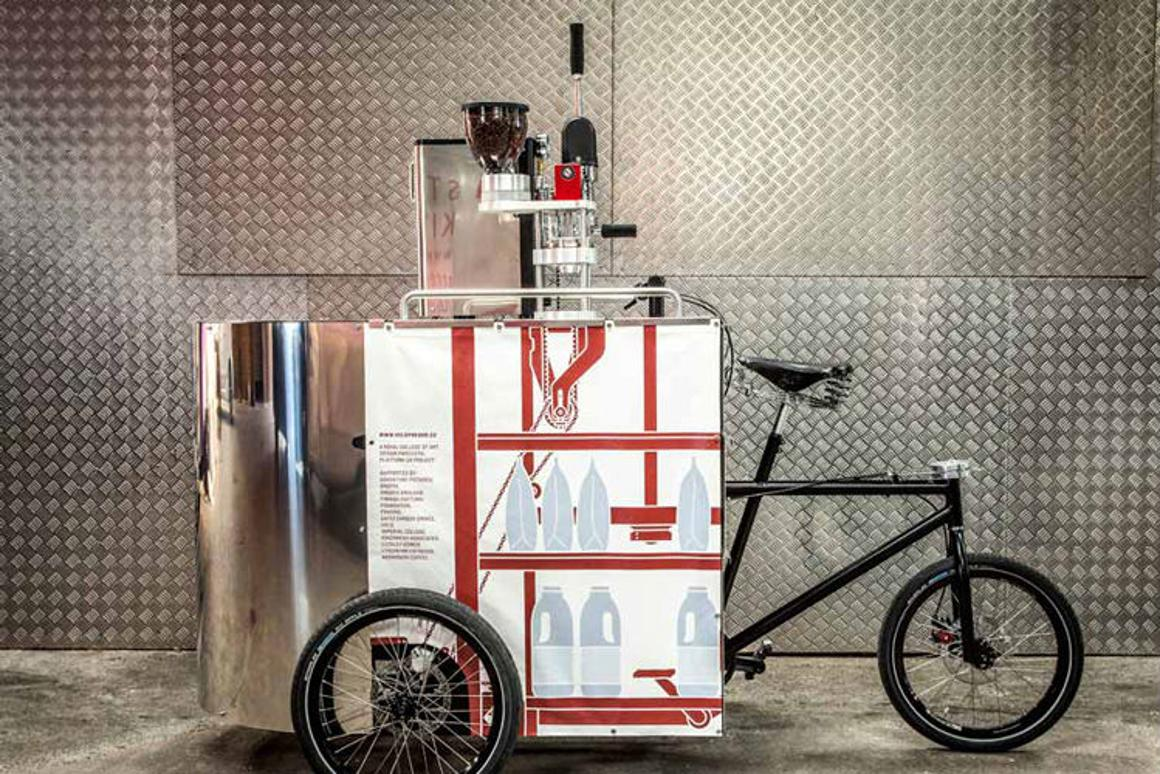 Velopresso has snagged an award from Deutsche Bank and came second place in a design competition hosted by Pininfarina (Photo: Ivan Coleman)