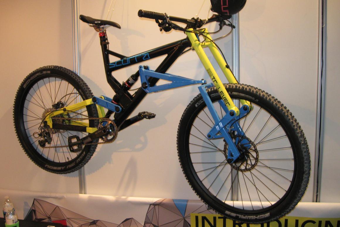 Scurra Hard Enduro mountain bike has a wild take on front