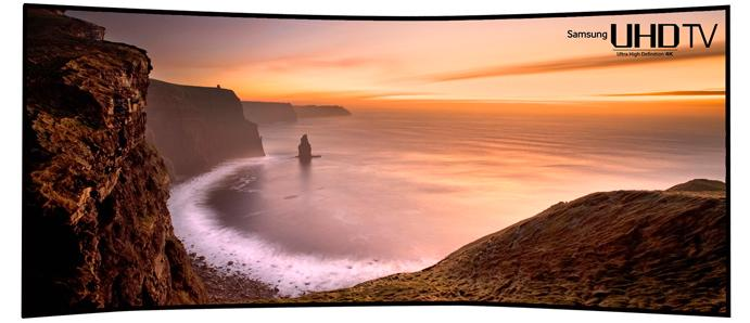 Samsung's 105-inch Curved UHD TV