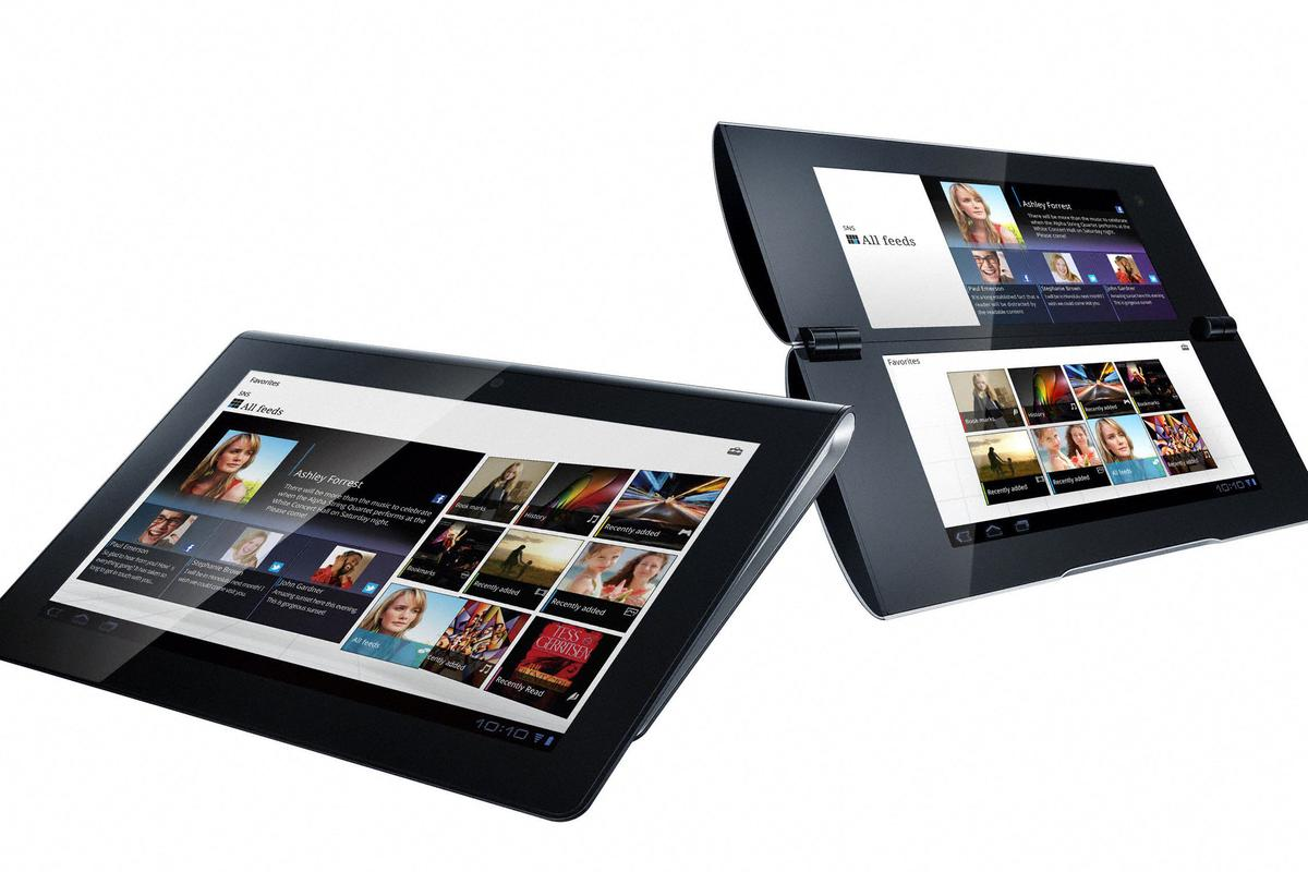 Sony Tablet: the S1 and S2 devices will hit the market later this year