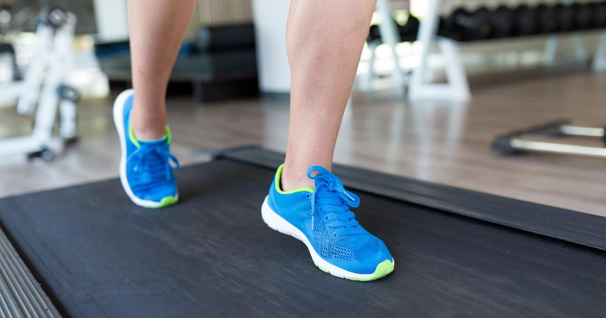For reduced period pain, treadmill use may do the trick