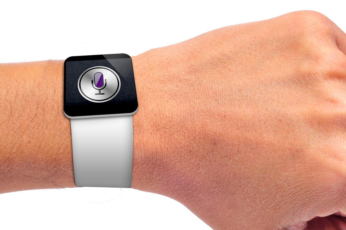 Will Apple spark a smart watch revolution? (Wrist image via Shutterstock)