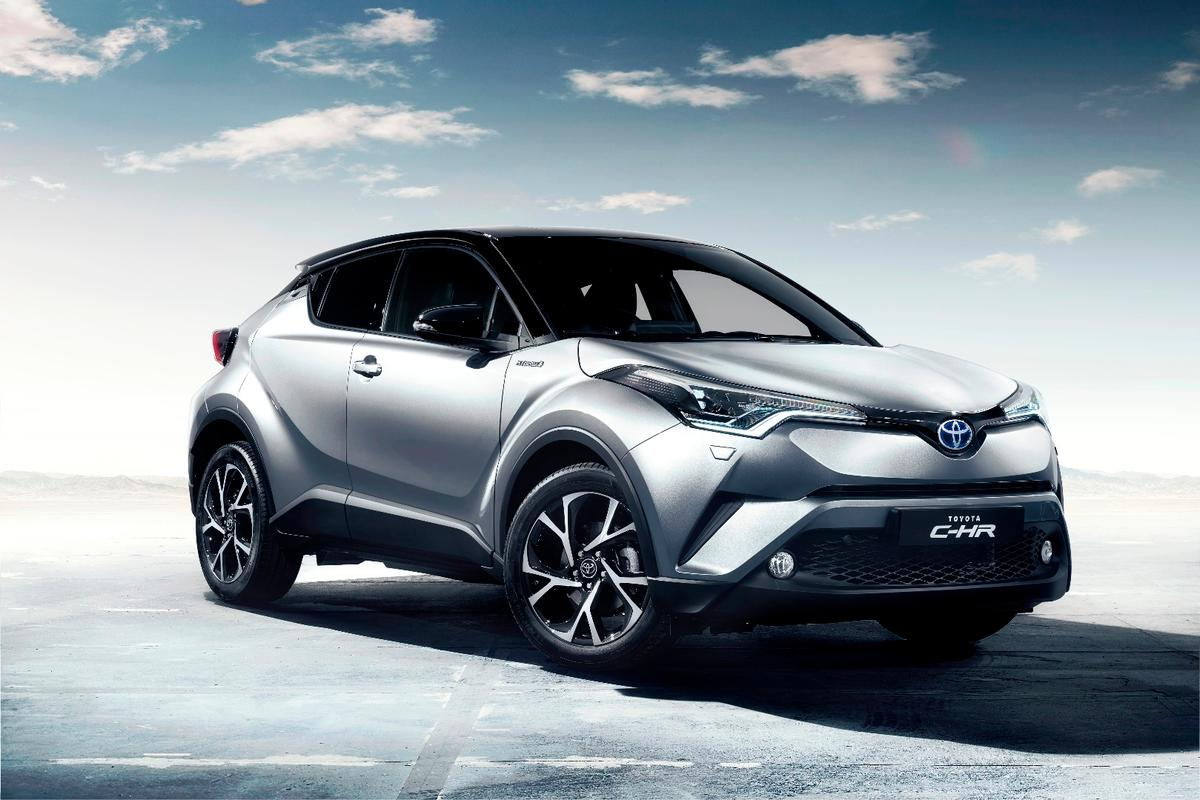 Toyota has made its range a bit more interesting with the C-HR