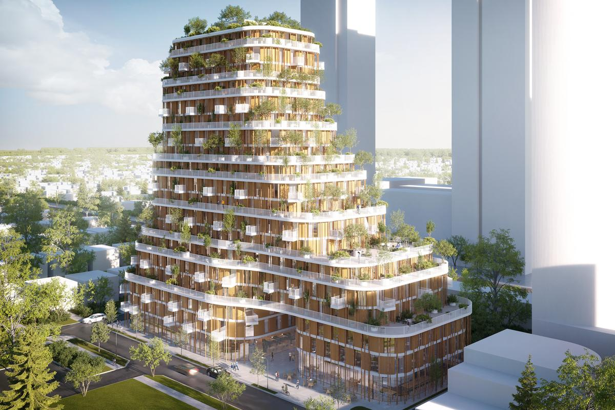 Vancouver Forest will consist of 200 homes and will incorporate some community space on its lowest three floors
