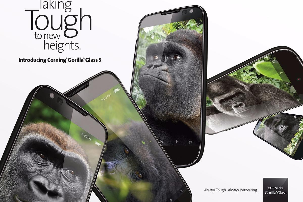 Corning Gorilla Glass gets even tougher for version 5