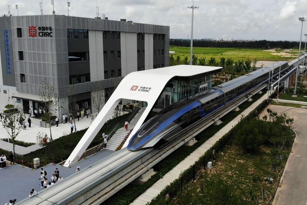China's CRRC claims its new 600 km/h maglev bullet train will be the fastest ground transport service in the world