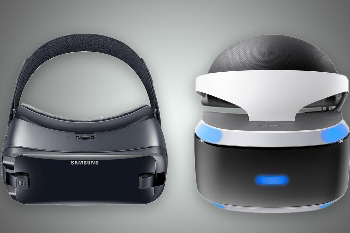 Samsung Gear VR (2017) vs  Sony PlayStation VR