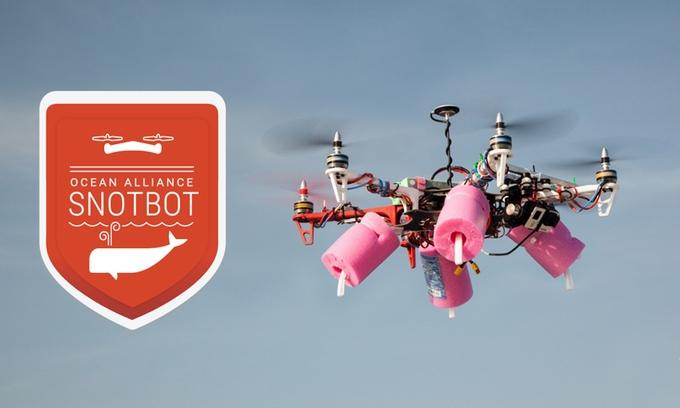 Behold Snotbot, a drone that samples whale lung lining exhalations