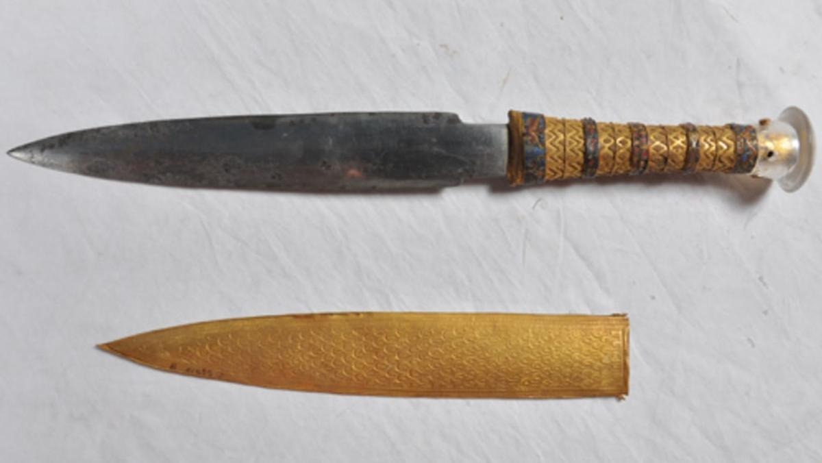 A new study has found that all iron tools from theBronze Age, includingKing Tutankhamun's dagger, were made from meteoric metal