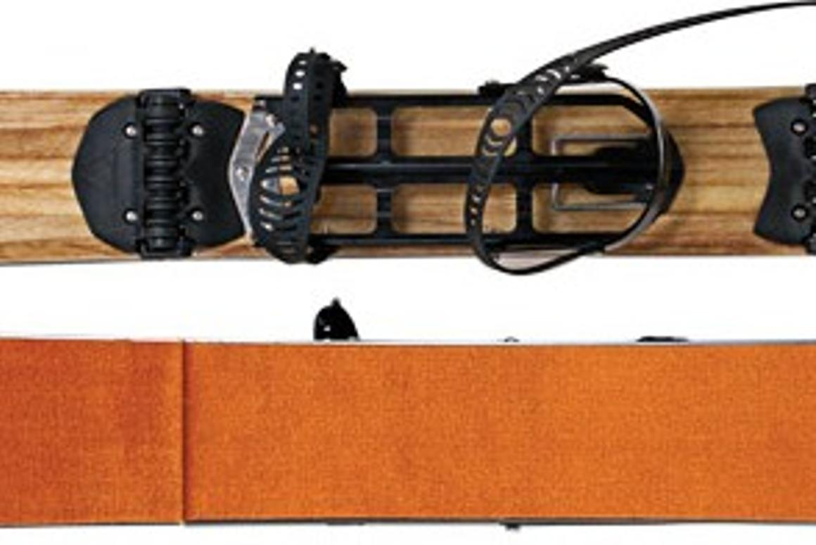 MTN Approach's three locking segments provide a functional approach ski for climbing