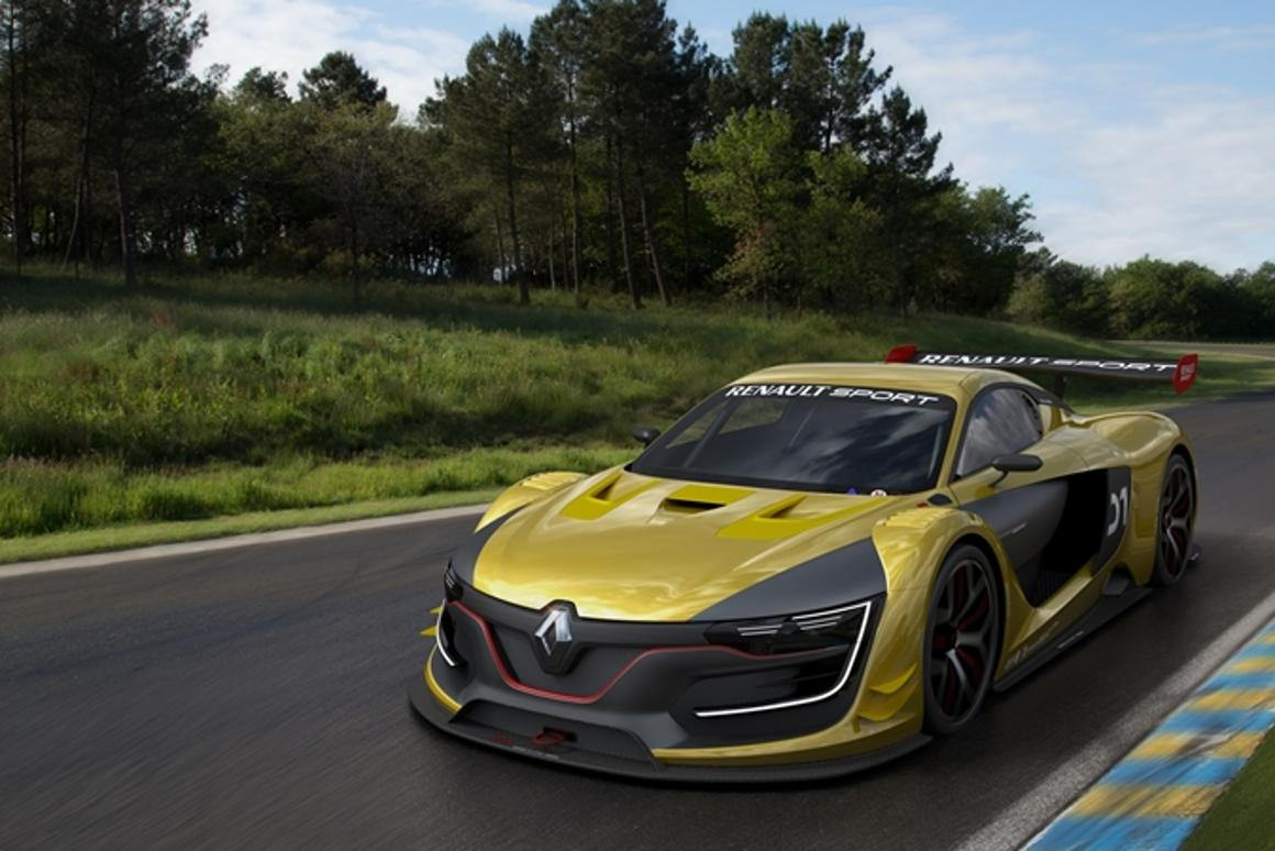 Renault has unveiled the Renault Sport RS 01