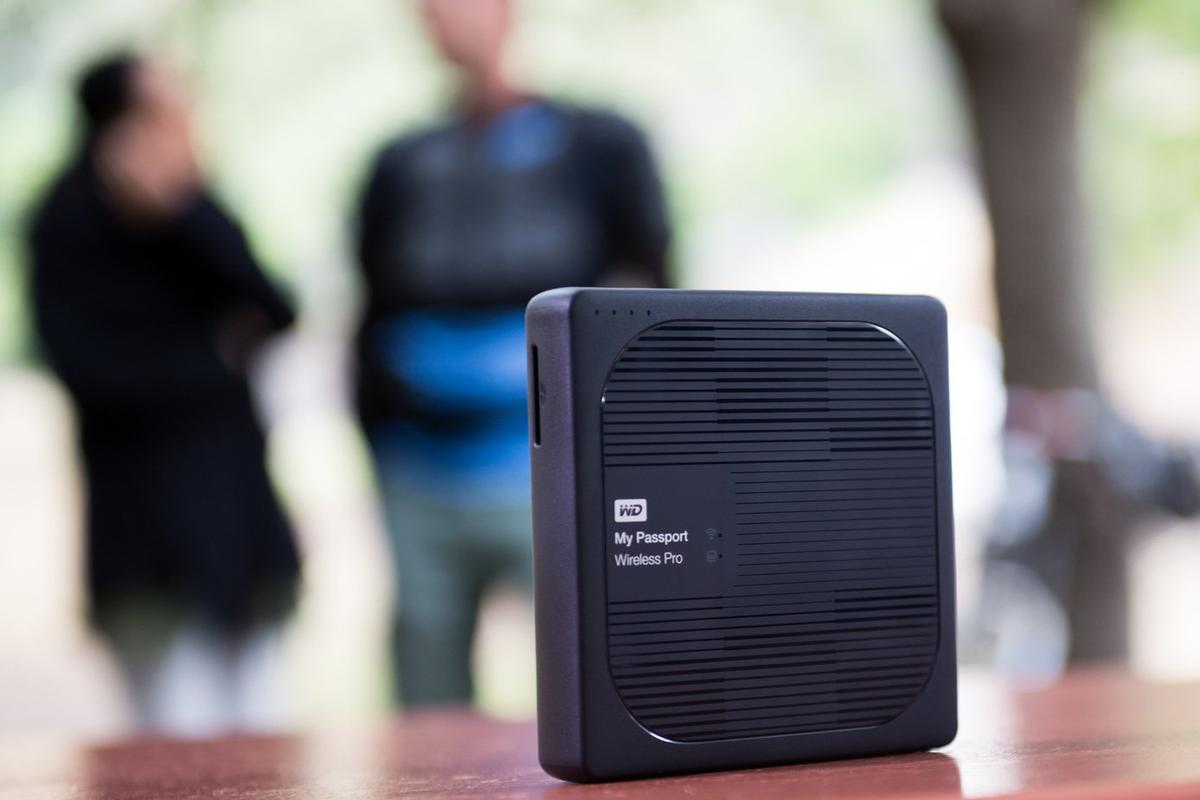 WD's My Passport Wireless Pro is designed to make it easy for creative professional to save and share data in the field